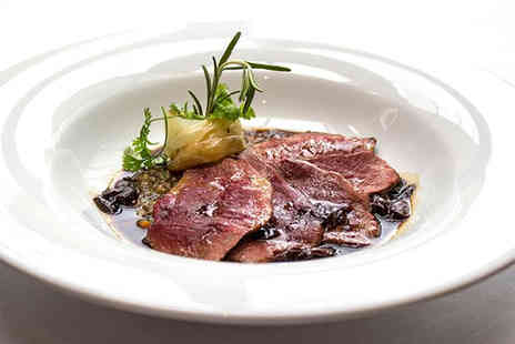 Buyagift - Three course Michelin dinner with a glass of Prosecco each for two people - Save 41%