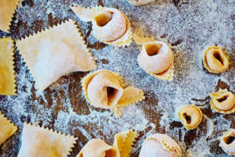 The Jamie Oliver Cookery School - Filled Pasta Cookery Course for Two - Save 0%