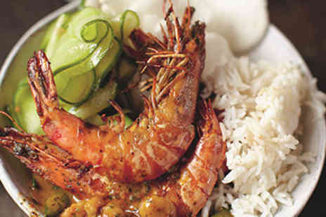 The Jamie Oliver Cookery School - Indian Prawn Curry Cookery Class for Two - Save 0%