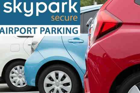 SkyPark Secure - 20% off airport parking - Save 0%