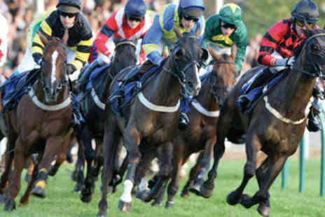 Newcastle Racecourse - Horse Racing Day for Two - Save 50%