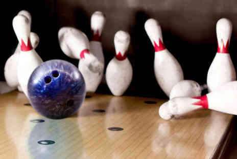MFA Bowl Blackpool - Two games of ten pin bowling for two people with a hot dog or chips each - Save 63%