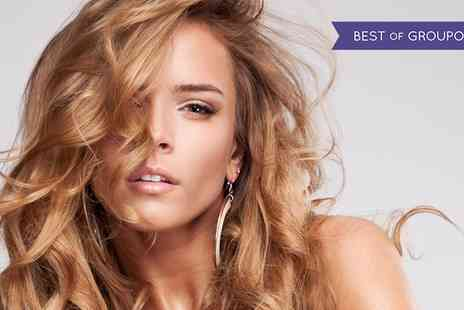 Va Va Voom - Cut and Blow Dry with Half Head Highlights or Full Head Colour - Save 60%