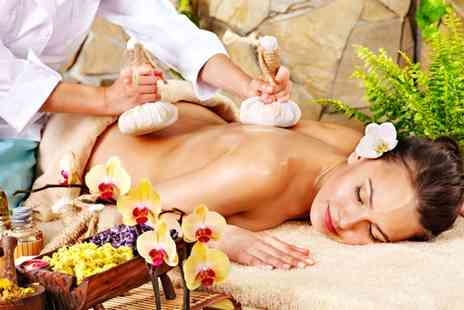 westoe beauty clinic - One or Two 45 Minute Hot Poultice Thai Massages - Save 0%