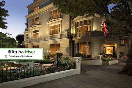 The Colonnade Hotel - Four Star overnight London stay for two with breakfast - Save 45%