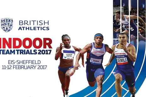UK Athletics - One adult or concession tier one ticket to British Athletics Team Trials on 11 To 12 February - Save 0%