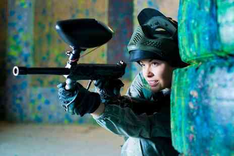 Skirmish Paintball Scotland - Paintballing for Up to 20 People with 200 Balls Each - Save 96%