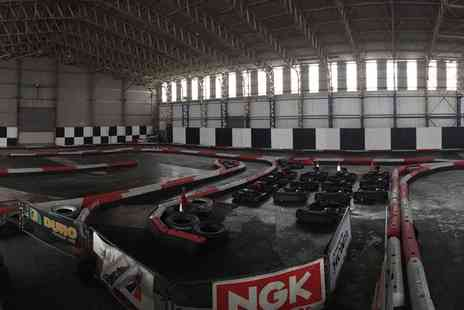 West Wales Karting - 25 Laps of Karting for Up to Six - Save 50%