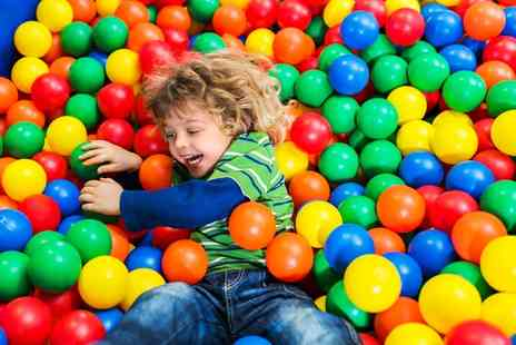 Sindbads Soft Play Centre - Soft Play Entry for Two or Three Children - Save 50%