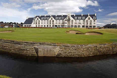 Carnoustie Golf Hotel - Hotel Escape with Dinner for Two - Save 10%