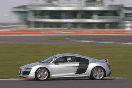 Track Days - Three lap Supercar driving experience for one at six locations - Save 50%