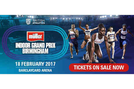 UK Athletics - Concession ticket to the Muller Indoor Grand Prix 2017 on 18th February - Save 60%