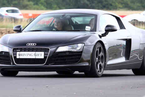 Driving Gift - Supercar driving experience in one car - Save 20%