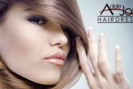 Adele Jones Hairdressing - Restyle and Finish With Schwarzkopf Seah Conditioning Treatment - Save 67%