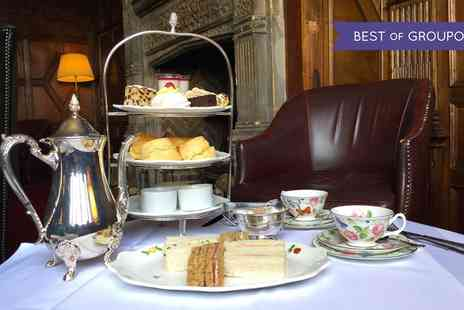 The Manor - Rosette Afternoon Tea with Optional Champagne for Up to Four - Save 49%