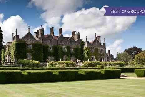 The Manor - Two AA Rosette Two or Three Course Sunday Lunch for Up to Four - Save 48%
