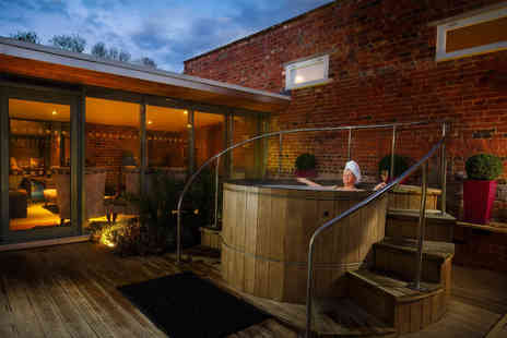 The Greenway Hotel & Spa - Twilight spa experience for one including spa access, treatment, dinner and bubbly - Save 58%