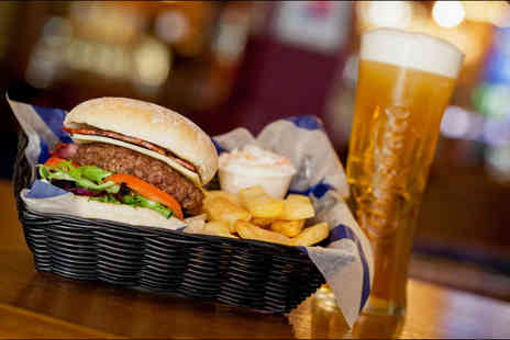 Bierkeller - Burger and beer each for two - Save 46%