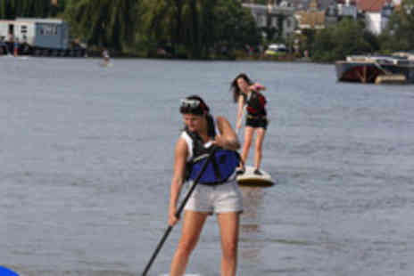 Active360 - Two hour private paddle boarding course for 4 people - Save 61%