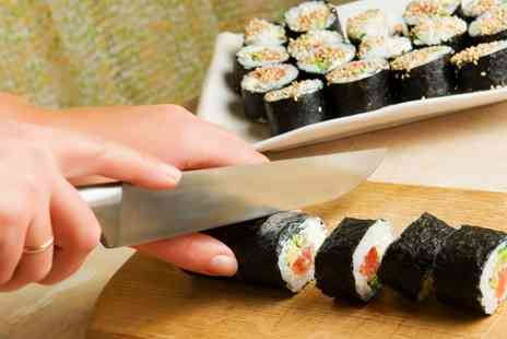 The Smart School of Cookery - Sushi Making Class for One or Two - Save 68%