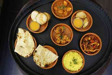 Chili Restaurant - Four or Eight Curry Tapas Dishes with Two or Four Sides for Two or Four - Save 0%
