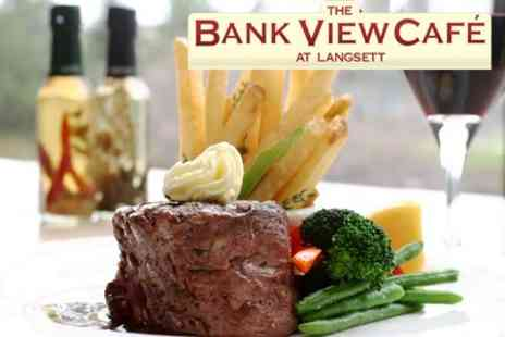 Bank View Cafe - £6 for £15 Worth of Food For Two - Save 60%