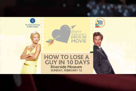 Prince and Princess of Wales Hospice - One vehicle entry to a Valentine outdoor drive in cinema screening - Save 0%
