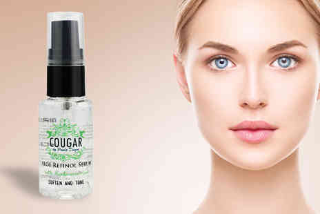 Cougar Beauty Products - Aloe Retinol Face Serum 30ml - Save 85%