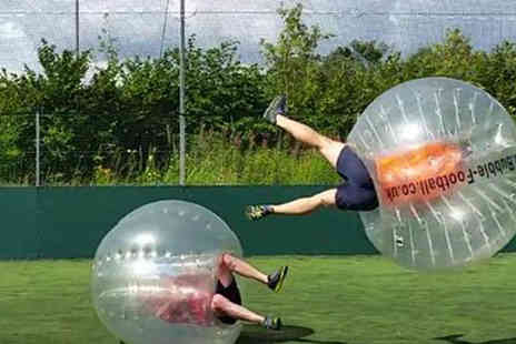 Excel Bubble Football - One Hour Bubble Football for Up to 15 People - Save 0%