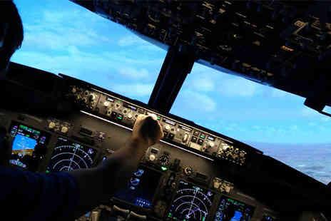 Jet Sim School - 30 or 60 Minute Boeing 737 Flight Simulator Experience - Save 0%