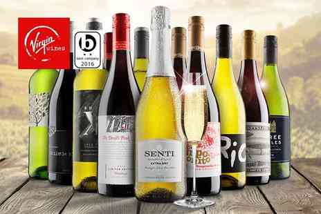 Virgin Wines - Six bottle selection of hand crafted boutique wine or 12 bottle selection with Prosecco - Save 58%