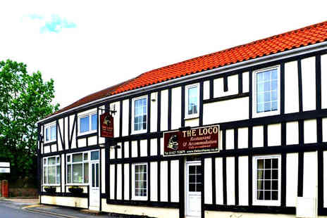 The Loco - One or two night stay for two with dinner and a bottle of wine - Save 59%