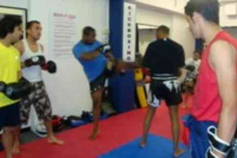 Muay Thai Masters Academy - A Group Muay Thai Kickboxing Class - Save 50%