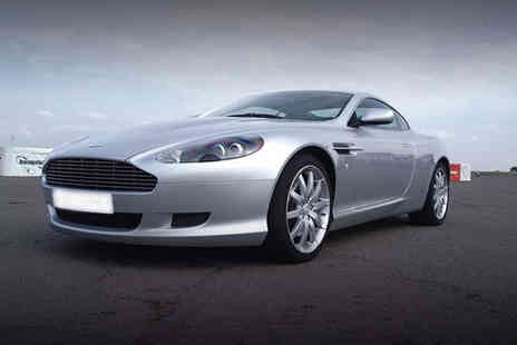 Buyagift - Aston Martin driving experience with high-speed passenger ride - Save 0%