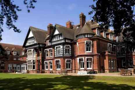 Woodlands Park Hotel - 3 Courses & Bubbly for 2 at 'Magnificent' Mansion - Save 40%