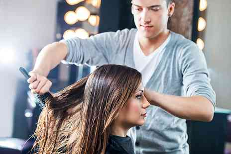 Vanity Hair - Wash, Cut and Blow Dry with Conditioning and Optional Half Head of Highlights - Save 25%