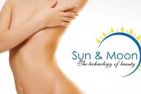 Sun and Moon Beauty - Three Sessions of Laser Lipolysis With Three Vibration Plate Sessions - Save 75%