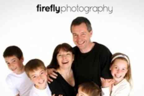 Firefly Photography - Individual, Family, or Maternity Photo Shoot With Print and CD - Save 93%