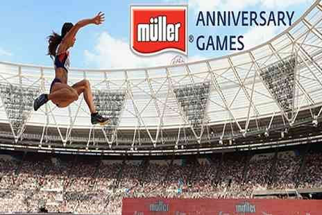 British Athletics - Muller Anniversary Games on 9 July - Save 33%