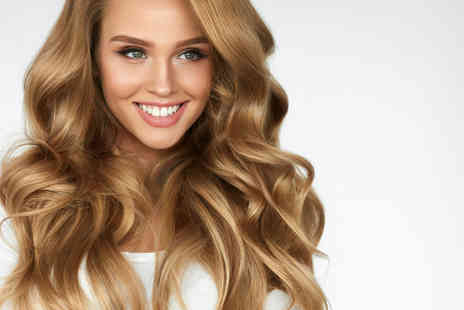 Hairticians - Half head of highlights with wash, cut, blow dry and Moroccan oil treatment - Save 68%