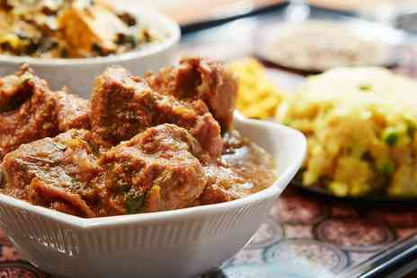 Bombay Palace - Two Course Meal with Soft Drink for Two - Save 0%