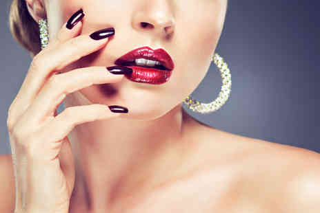 Eyves Beauty Lounge - Deluxe manicure or including a pedicure - Save 65%