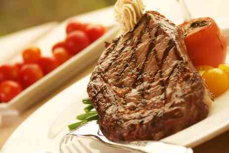 The Ringlestone Inn - 28 Day Rib Eye Steak with a Choice of Sides for Two or Four - Save 56%