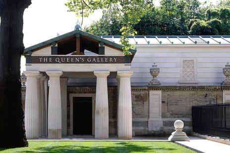 The Queen's Gallery - Visit and Champagne Afternoon Tea for Two - Save 39%