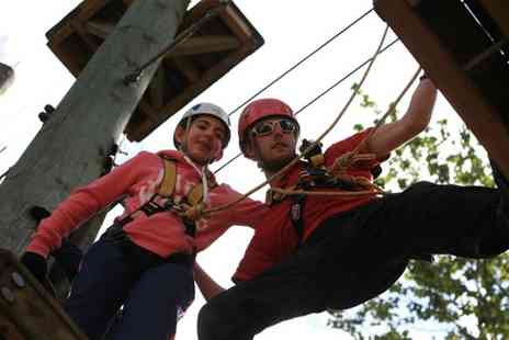 Aerial Extreme - Adventure Course Ticket to Aerial Extreme for an Adult or Child - Save 41%