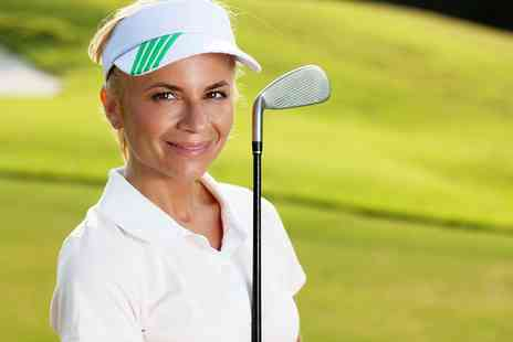 Fore Women - Golf Taster Session for One or Roll Up Session for Two - Save 67%