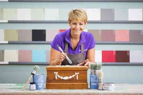 Shabby And - Beginners Furniture Painting or Special Effects Workshop with Lunch for One or Two - Save 38%
