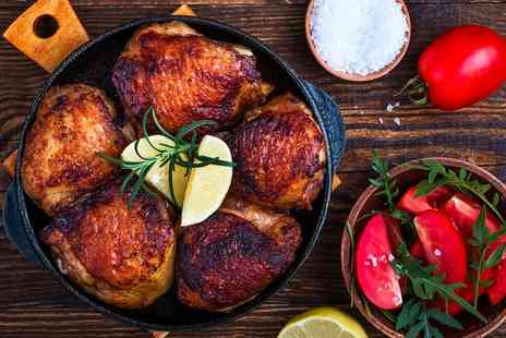 Rotisserie Bute Street - Two Course Rotisserie Meal with Optional Wine for Up to Four - Save 30%