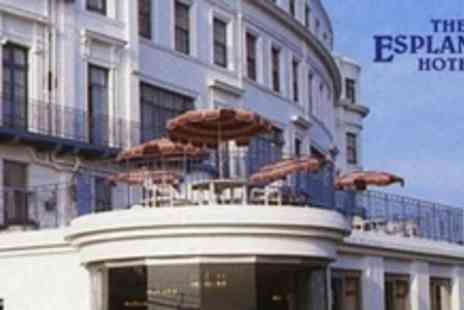 Esplanade Hotel - In Scarborough Two Night Stay For Two With Breakfast and Four Course Dinner Each Day - Save 54%