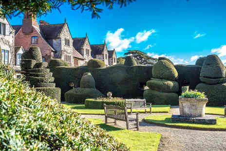 The Billesley Manor Hotel - One or two night stay for two with dinner, breakfast, wine and late check out - Save 60%
